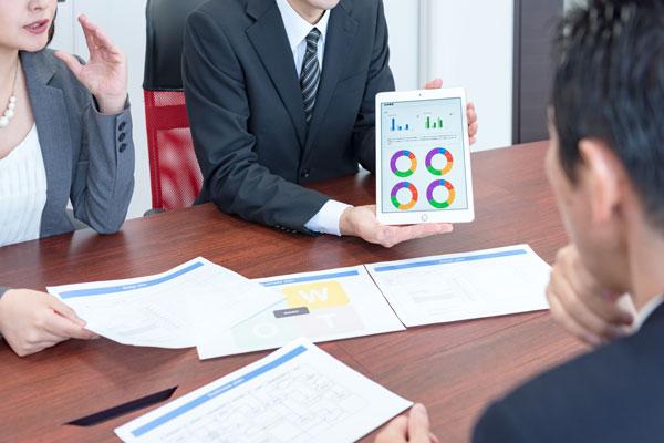 【理由2】企画提案力 お客様の課題に即した、柔軟な企画提案力