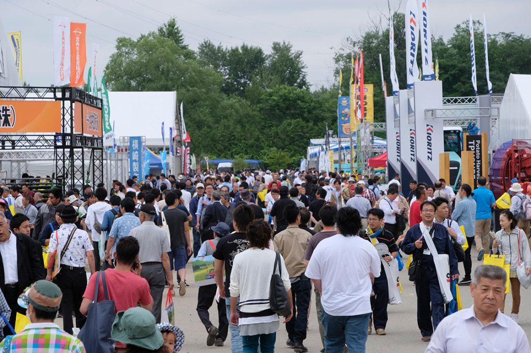 第34回国際農業機械展in帯広画像