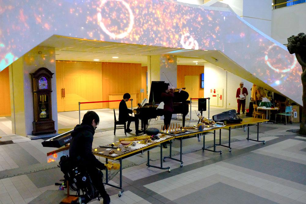 株式会社オカモト パブリック・ビジネス・カンパニー 様 音と光のクリスマスコンサート画像